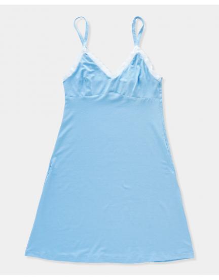 Сорочка в голубом цвете